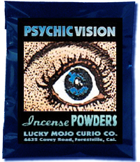 Lucky Mojo Curio Co.: Psychic Vision Incense Powder
