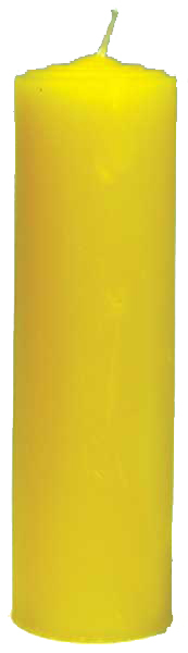 Pull-Out-Candle-Yellow-at-the-Lucky-Mojo-Curio-Company-in-Forestville-California