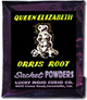 Lucky Mojo Curio Co.: Queen Elizabeth Root Sachet Powder