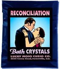 Lucky Mojo Curio Co.: Reconciliation Bath Crystals