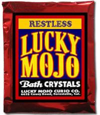 Lucky Mojo Curio Co.: Restless Bath Crystals
