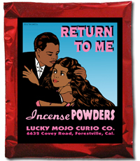 Lucky Mojo Curio Co.: Return To Me Incense Powder