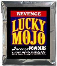 Lucky Mojo Curio Co.: Revenge Incense Powder