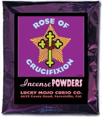Lucky Mojo Curio Co.: Rose of Crucifixion Incense Powder