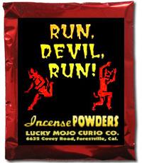 Lucky Mojo Curio Co.: Run Devil Run Incense Powder