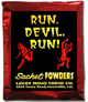 Lucky Mojo Curio Co.: Run Devil Run Sachet Powder