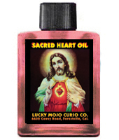 Lucky Mojo Curio Co.: Sacred Heart of Jesus Oil