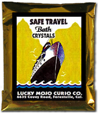 Lucky Mojo Curio Co.: Safe Travel Bath Crystals