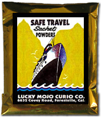 Lucky Mojo Curio Co.: Safe Travel Sachet Powder