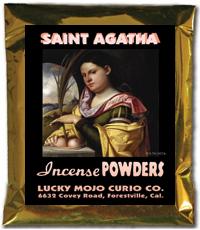 Lucky Mojo Curio Co.: Saint Agatha Incense Powders