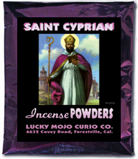 Lucky Mojo Curio Co.: Saint Cyprian (San Cipriano) Incense Powders
