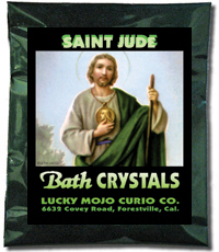 Lucky Mojo Curio Co.: Saint Jude Bath Crystals