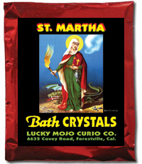 Lucky Mojo Curio Co.: Saint Martha Dominator Bath Crystals