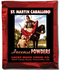 Lucky Mojo Curio Co.: Saint Martin Caballero Incense Powders