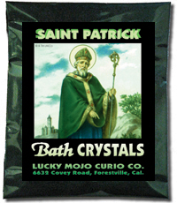 Lucky Mojo Curio Co.: Saint Patrick Bath Crystals