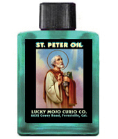 Lucky Mojo Curio Co.: Saint Peter Oil