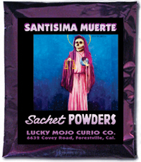 Lucky Mojo Curio Co.: Santisima Muerte (Holy Death) Sachet Powders