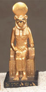 Sekhmet-on-a-Throne-Statue-at-Lucky-Mojo-Curio-Company