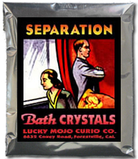Lucky Mojo Curio Co.: Separation Bath Crystals