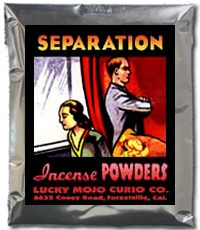 Lucky Mojo Curio Co.: Separation Incense Powder