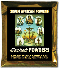 Lucky Mojo Curio Co.: Seven African Powers (Siete Potencias) Sachet Powders