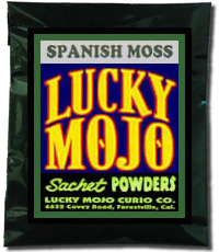 Lucky Mojo Curio Co.: Spanish Moss Sachet Powder