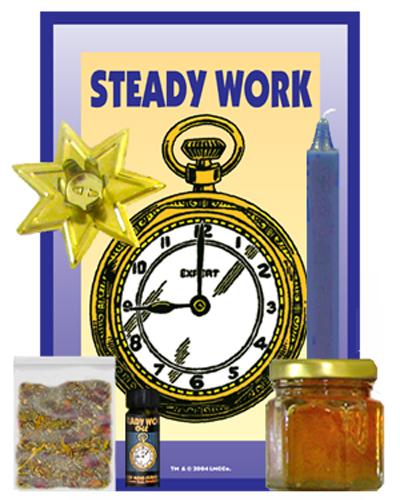 Steady-Work-Honey-Jar-Mini-Spell-Kit-at-Lucky-Mojo-Curio-Company