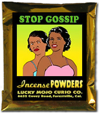 Order-Stop-Gossip-Magic-Ritual-Hoodoo-Rootwork-Conjure-Incense-Powder-From-the-Lucky-Mojo-Curio-Company
