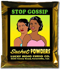 Lucky Mojo Curio Co.: Stop Gossip Sachet Powder
