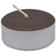 Tea-Light-Candle-Brown-Unscented-Product-Detail-Button-at-the-Lucky-Mojo-Curio-Company-in-Forestville-California