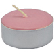 Tea-Light-Candle-Pink-Unscented-Product-Detail-Button-at-the-Lucky-Mojo-Curio-Company-in-Forestville-California