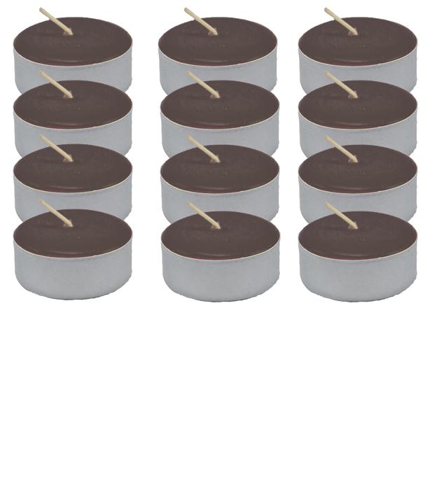 Tea-Light-Candle-Dozen-Brown-Unscented-at-the-Lucky-Mojo-Curio-Company-in-Forestville-California