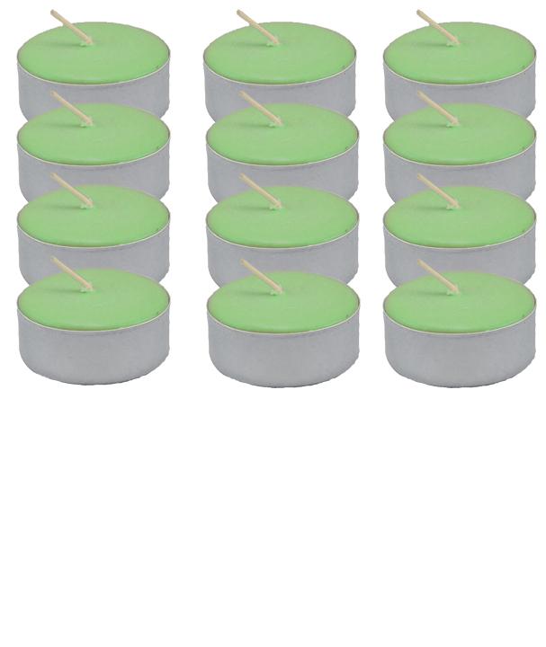 Tea-Light-Candle-Dozen-Green-Unscented-at-the-Lucky-Mojo-Curio-Company-in-Forestville-California