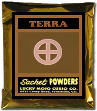 Terra-Sachet-Powder-at-the-Lucky-Mojo-Curio-Company-in-Forestville-California