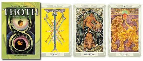Crowley-Harris-Thoth-Tarot-Large-at-Lucky-Mojo-Curio-Company