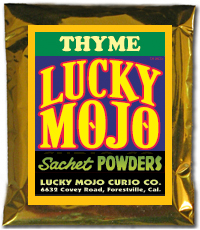 Thyme-Sachet-Powders-at-Lucky-Mojo-Curio-Company-in-Forestville-California