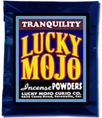 Lucky Mojo Curio Co.: Tranquility Incense Powder