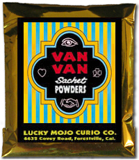 Lucky Mojo Curio Co.: Van Van Sachet Powder