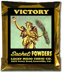 Lucky Mojo Curio Co.: Victory Sachet Powder