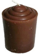 Votive-Light-Candle-Brown-Product-Detail-Button-at-the-Lucky-Mojo-Curio-Company-in-Forestville-California