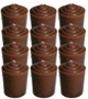 Votive-Light-Candle-Dozen-Brown-Product-Detail-Button-at-the-Lucky-Mojo-Curio-Company-in-Forestville-California