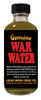 War Water-at-Lucky Mojo Curio Company-in-Forestville-California